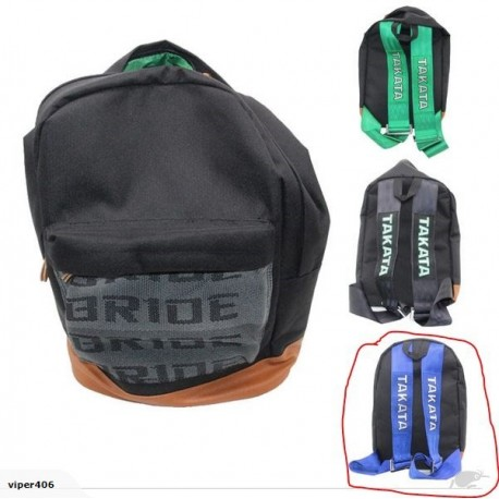 Bride & Takata JDM Bag - Blue Strap