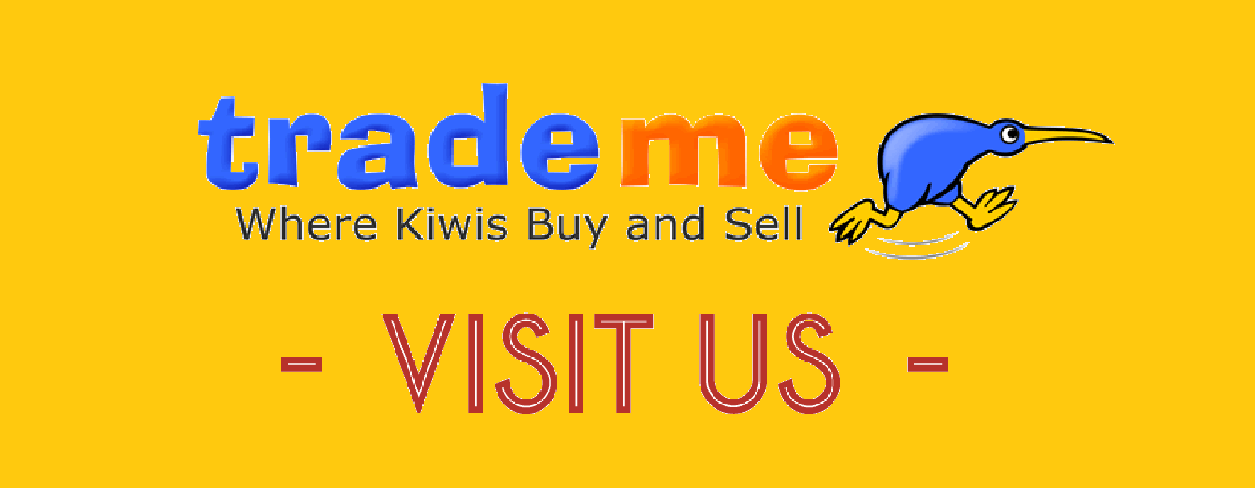 Visit us on TradeMe